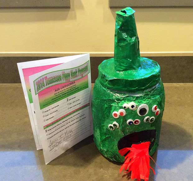 2014 winning Piggy Bank Pageant entry by Gavin King