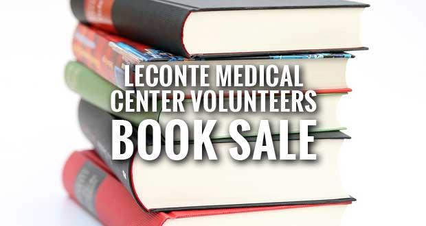 LeConte Medical Center Volunteers Hosting Book Sale