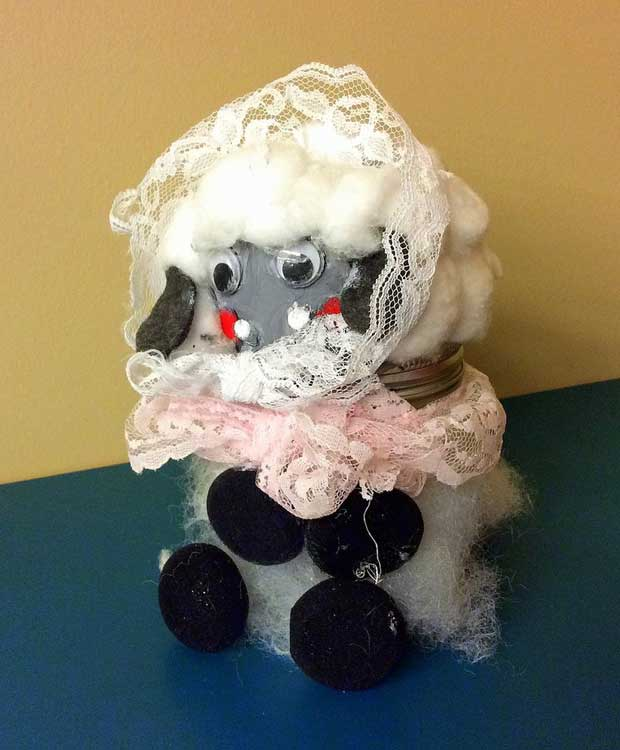 2014 winning Piggy Bank Pageant entry by Rose Baker