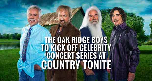 Country Tonite Theatre Announces Celebrity Concert Series