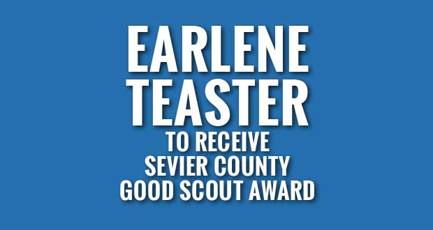 Boy Scouts To Honor Pigeon Forge's Earlene Teaster with Sevier County Good Scout Award