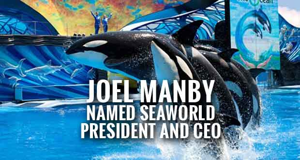 Herschend's CEO Manby Heading to SeaWorld