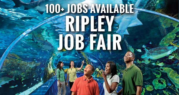 Ripley Job Fair to Fill 100+ Jobs at Ripley Attractions in Sevier County