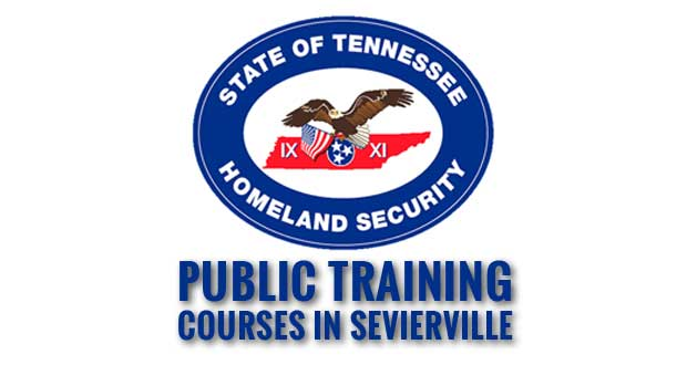 Sevierville Police to Host Office of Homeland Security Public Training Courses