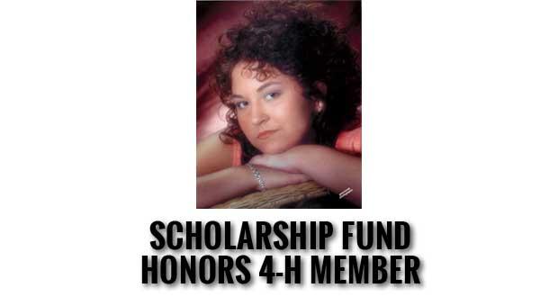 Erica Manning 4-H Memorial Scholarship Fund Established