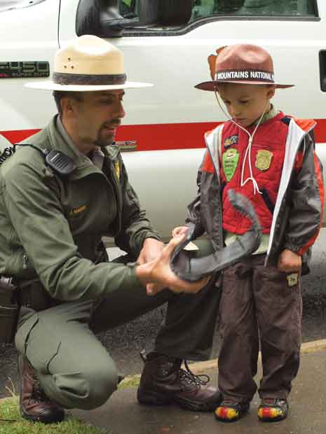 Great Smoky Mountains National Park Hosts Free Junior Ranger Day