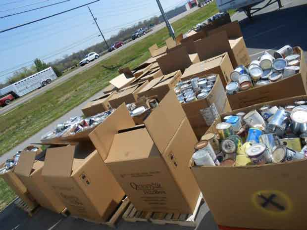 Keep Sevier Beautiful Household Hazardous Waste Collection 2014