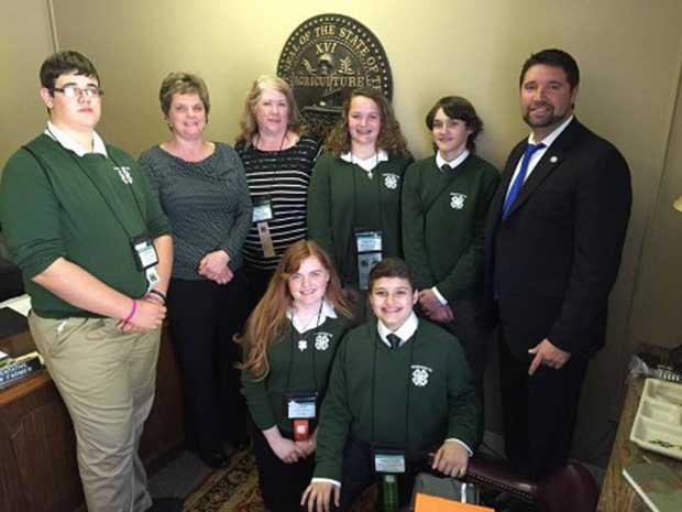 Tennessee 4-H Congress Sevier County Members
