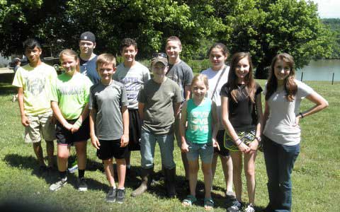 Sevier County 4-H Wildlife Judging Teams Participate in Regional Competition