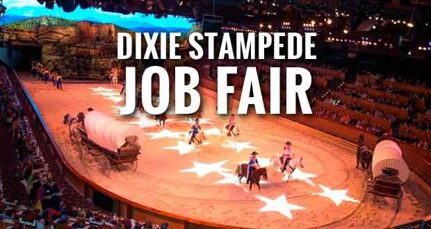 Dixie Stampede Hosting Summer Job Fair