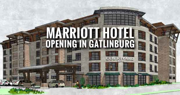 New Marriott Hotel Near Gatlinburg Convention Center Opening in Julyc