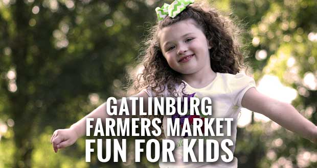 Kids Day at the Gatlinburg Farmers Market offers Fun and Learning