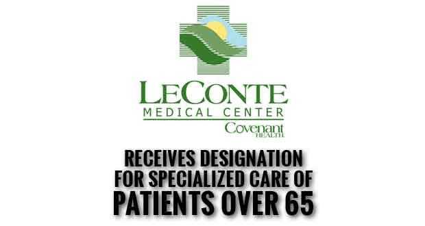 LeConte Medical Center Receives NICHE Designation