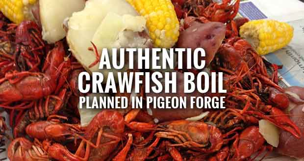 Authentic Crawfish Boil in Pigeon Forge to Benefit Relay for Life
