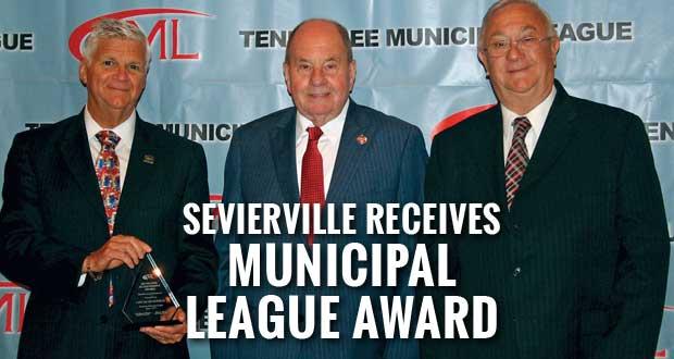 Sevierville Receives Municipal League Award