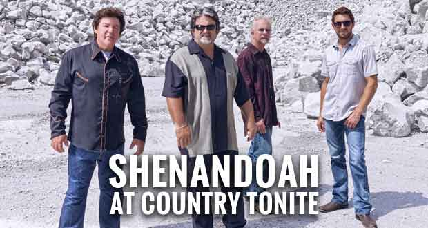 Shenandoah, featuring Marty Raybon, Appearing at Country Tonite
