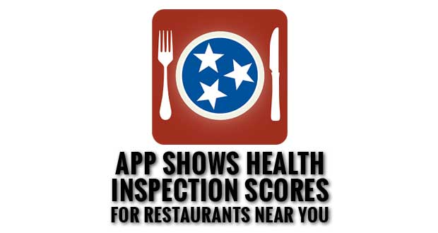Check Tennessee Restaurant Inspection Scores with New Mobile App