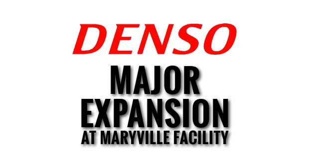 Maryville Auto Supplier Denso to Invest $400 Million and Hire 500