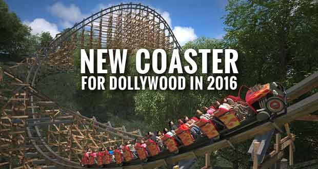 Lightning Rod Wood Roller Coaster At Dollywood In 2016