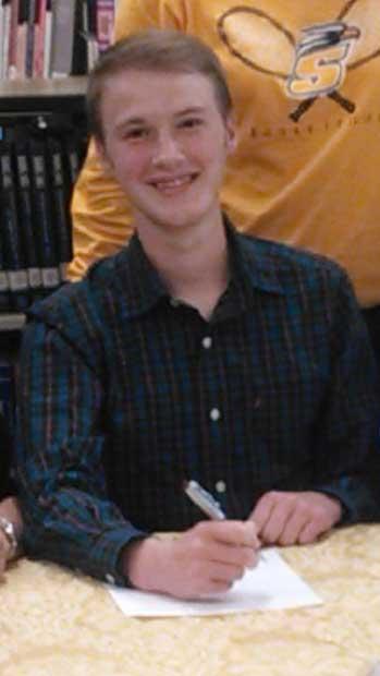 Jonathan Fintak, winner of the first ever $10,000 Pro Tennis Management Scholarship