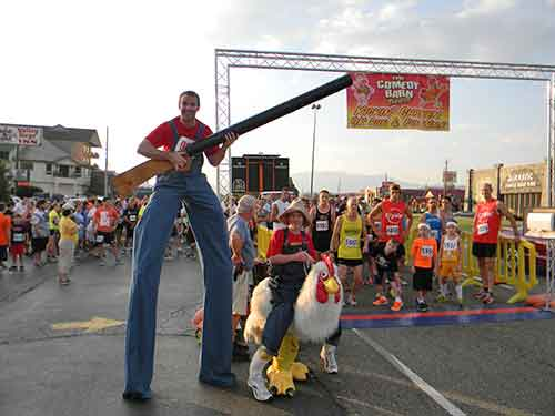 Kickin' Chicken 5K to Benefit Safe Harbor Child Advocacy Center