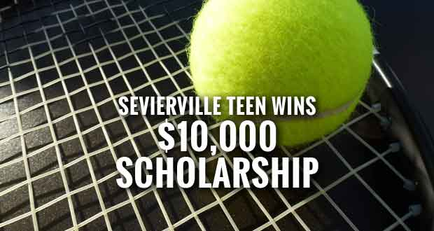 Sevierville Teen Awarded $10,000 Pro Tennis Management Scholarship
