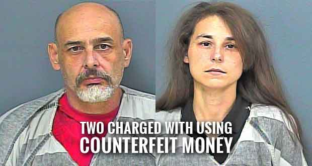Father, Daughter Arrested at Flea Market for Using Counterfeit Money