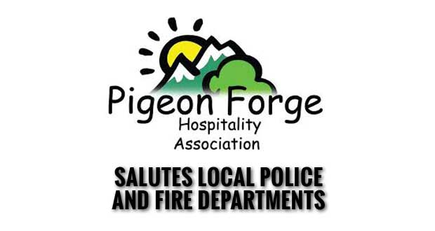 Pigeon Forge Hospitality Association Honors City Police & Fire Fighters