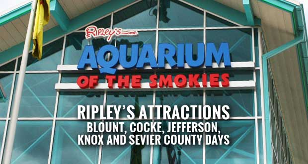 Area Days at Ripley's Tennessee Attractions to Benefit Sevier County Food Ministries