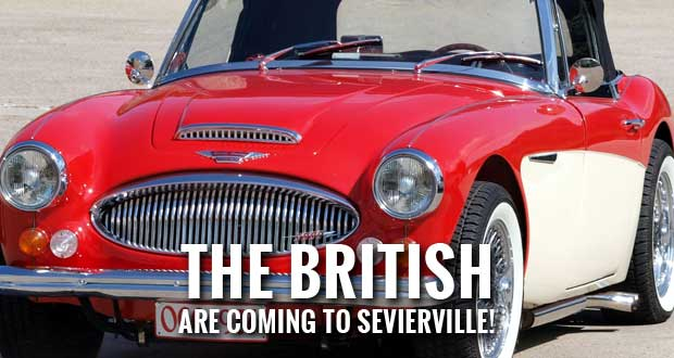 Austin-Healey Enthusiasts Come to Sevierville for Car Show