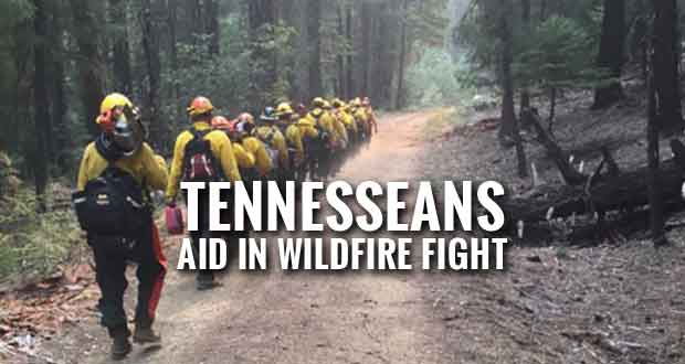 Tennessee Sends Forestry Personnel to Help Fight Western Wildfires