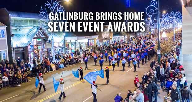 International Festivals & Events Association Honors Gatlinburg with Seven Pinnacle Awards