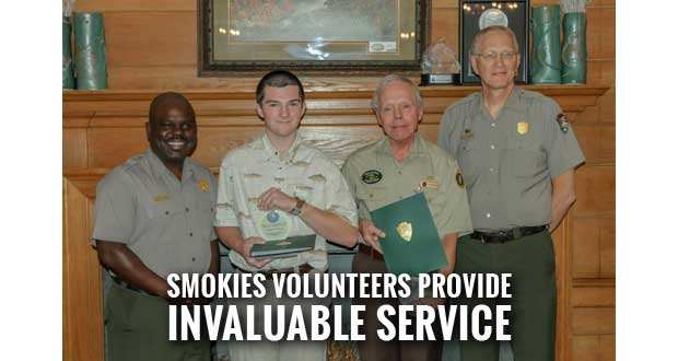 Great Smoky Mountains National Park Volunteers Recognized