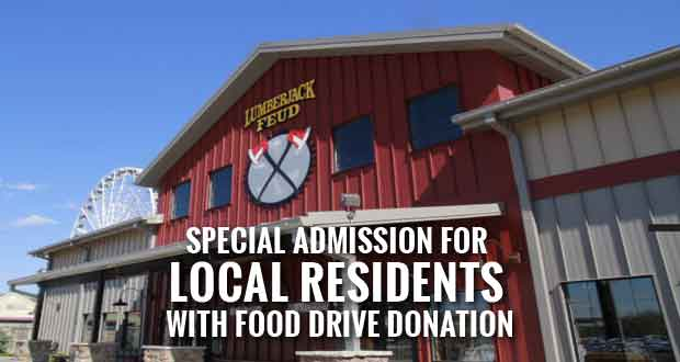 Lumberjack Feud Food Drive and Local Appreciation Days