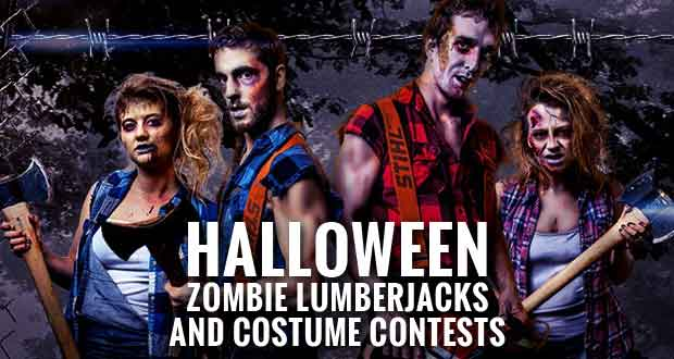 Lumberjack Feud Dinner Show in Pigeon Forge will be offering special Halloween shows on Friday and Saturday, Oct. 30 and 31, 2015.