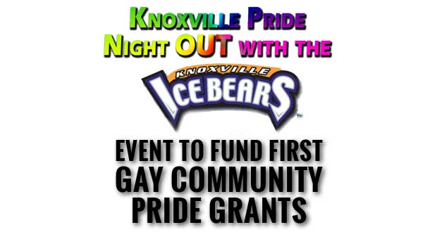 Inaugural Pride Night OUT with the Knoxville Ice Bears