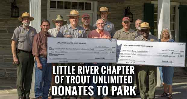Local Fishing Chapter Supports National Park's Brook Trout