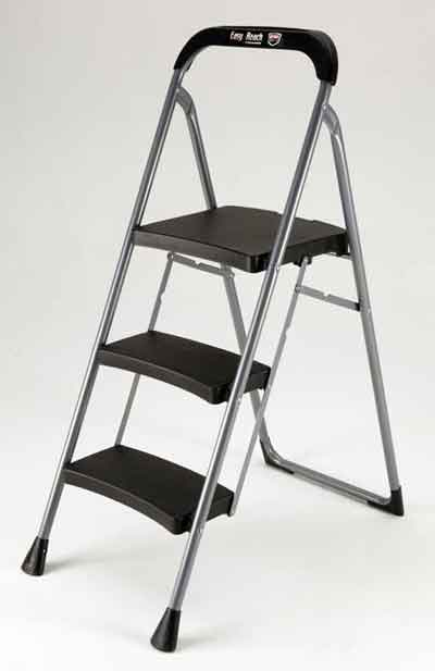 Easy Reach by Gorilla Ladders 3-Step Pro Series Step Stools