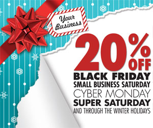 20% off banner advertising rates on seviernewsmessenger.com during the winter holidays!