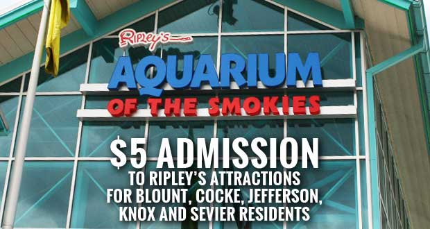 Ripley's $5 Admission Special to Benefit Sevier County Food Ministries