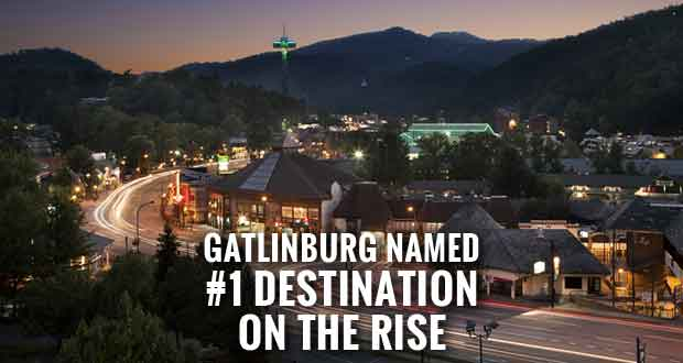 Gatlinburg Earns Top Spot in 2015 TripAdvisor Travelers' Choice Awards