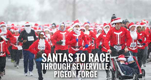 Santa is Coming to Town for the Santa Hustle 5K & Half Marathon