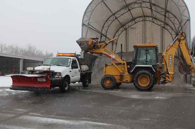 Sevierville Winter Weather Salt Supply