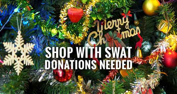 Annual Shop with SWAT Event to Benefit Foster Children of Accident Victims