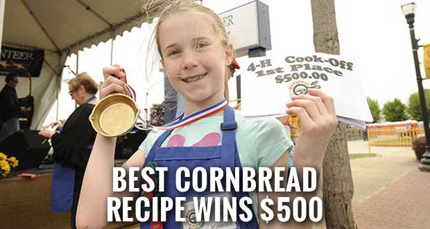 National Cornbread Festival Calls for Recipes from 4th Grade 4-H'ers for National Cornbread Cook-Off Competition