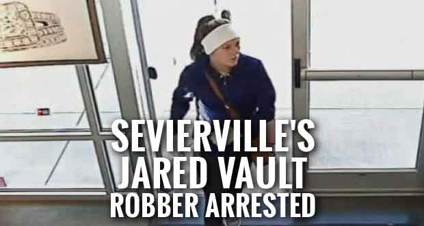 Woman Arrested for Jewelry Store Robberies in Sevierville and Across Southeast