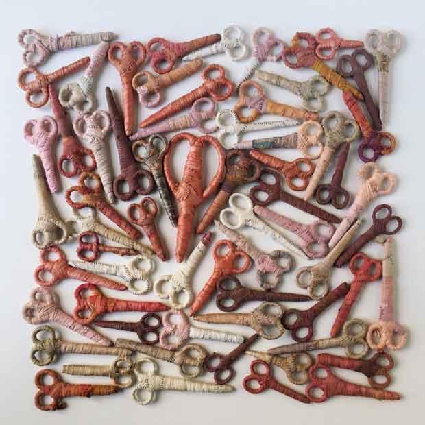 Suzanna Scott: Bound Scissors at Touch: Interactive Craft: Arrowmont's National Juried Exhibition