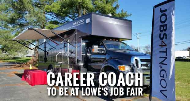 Career Coach to be Onsite at Lowe's Hiring Event in Sevierville