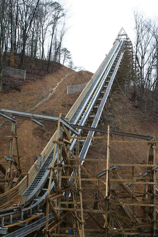 Lightning Rod Lift Hill