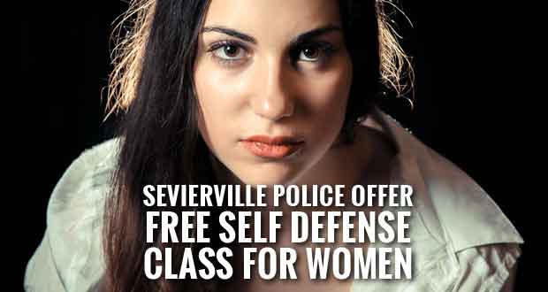 Free Women's Self-Defense Class Offered by Sevierville Police